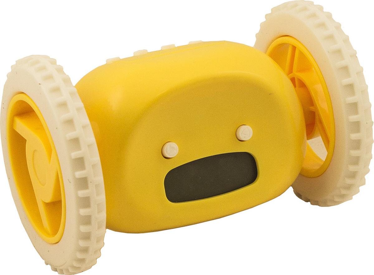 """Часы-будильник """"Инопланетянин"""", цвет: желтый. 93483 #1"""