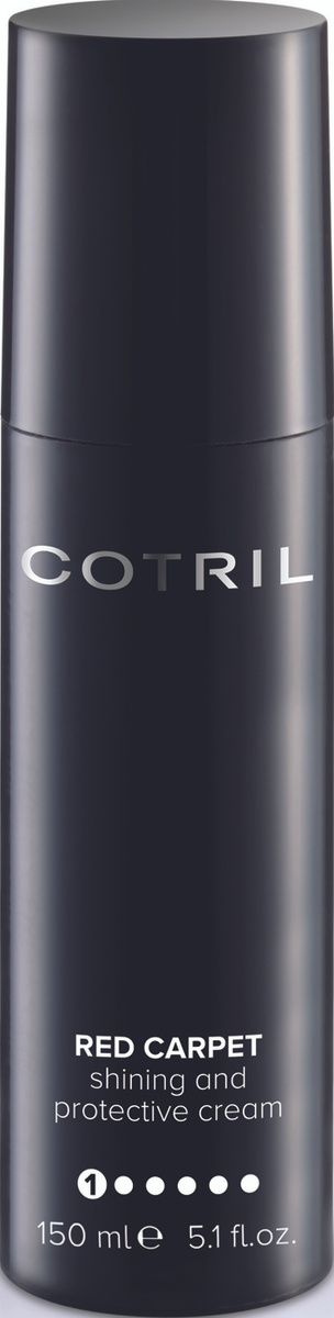 Cotril Разглаживающий крем для укладки и блеска волос RED CARPET, 150 мл  #1