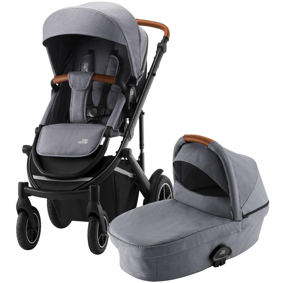 Детская коляска 2 в 1 Britax Roemer SMILE III Frost Grey #1