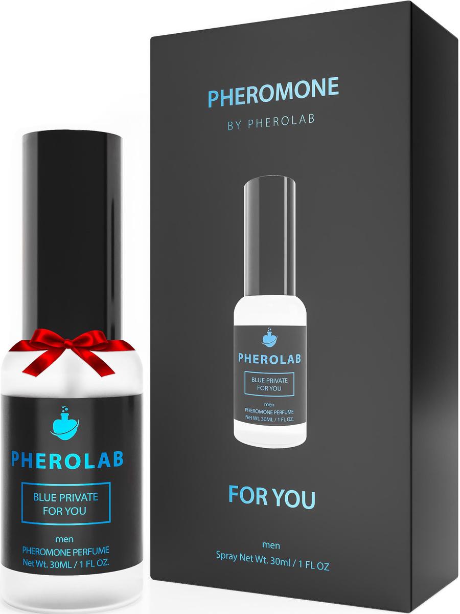 Мужские Духи с Феромонами для Привлечения Женщин - Blue Private Pheromones Духи с Феромонами 30мл.  #1