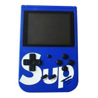 Портативная игровая приставка SUP GAMEBOX PLUS 400 в 1 (синий)