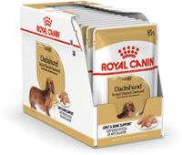 """Консервы Royal Canin """"Dachshund Adult"""", для собак породы такса в возрасте старше 10 месяцев, паштет, 85 г, 12 шт. Скидки!"""