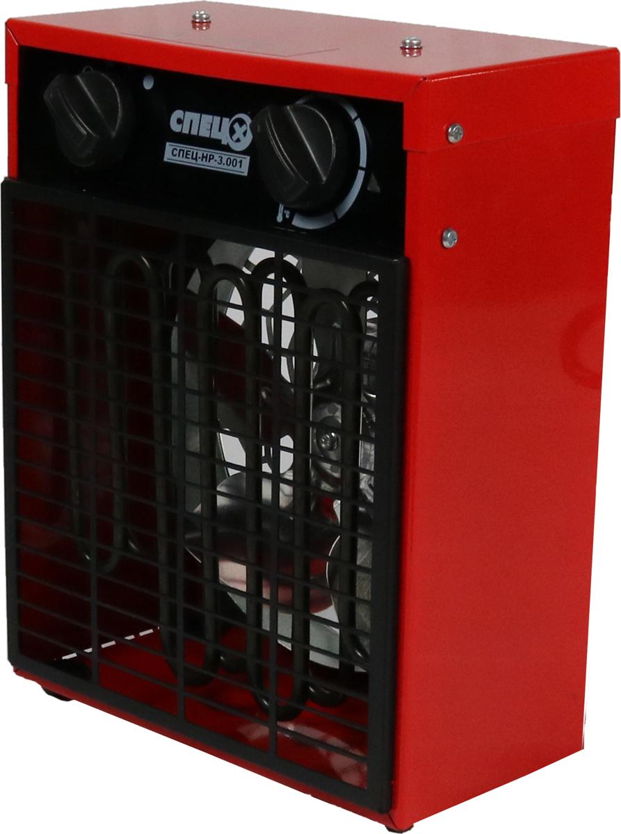 купить Тепловентилятор Спец НР-3.001, красный дешево