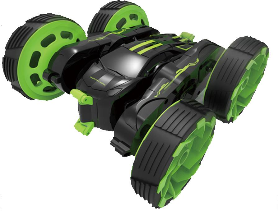 Машинка Фокусник, радиоуправляемая, 4 колеса Зеленый