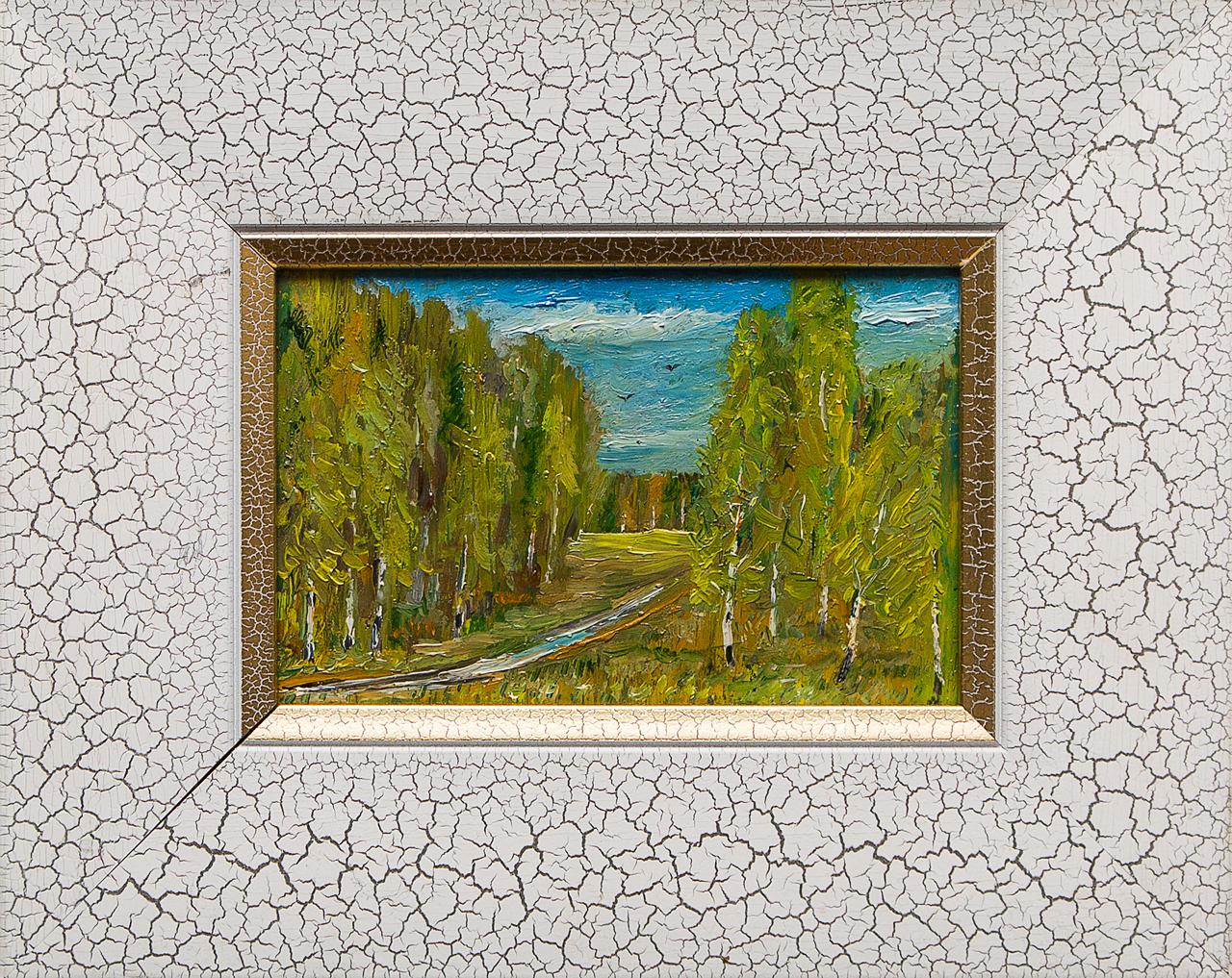 Картина маслом Скоро осень Мифтахов картина маслом подсолнухи мифтахов