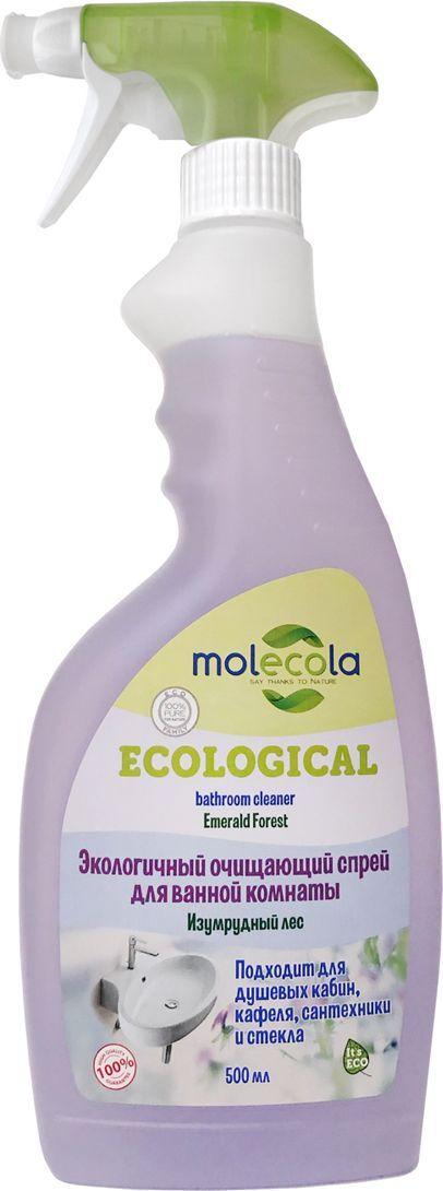 Очищающий спрей Molecola Emerald Forest, для ванной комнаты, экологичный, 500 мл очищающий спрей molecola emerald forest для ванной комнаты экологичный 500 мл