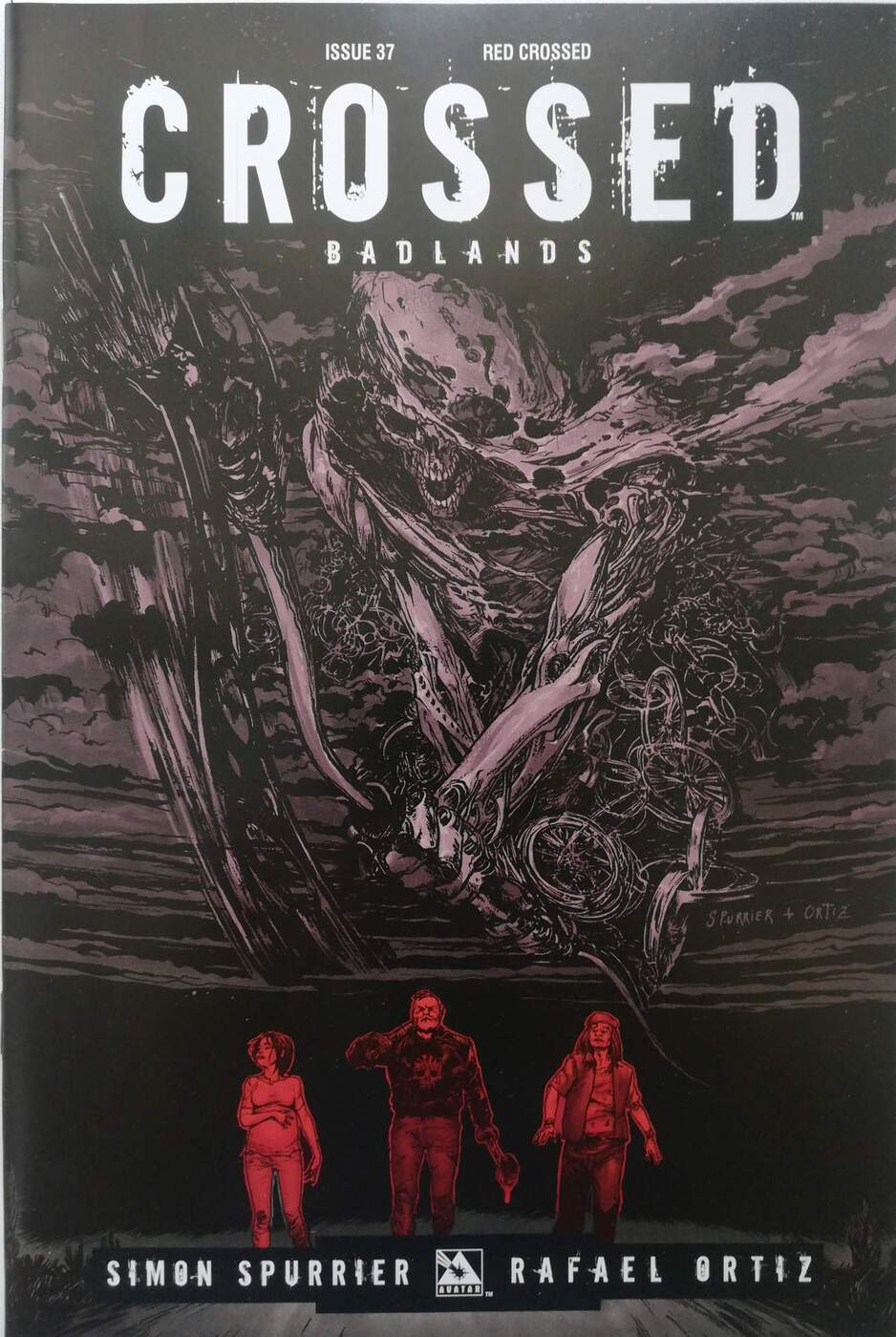 Crossed: Badlands. №37 (red crossed) (4 книги) NEW STORY ARC! Fan favorite Crossed writer, SIMON SPURRIER, delivers...