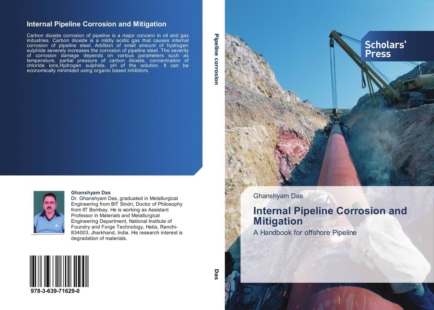 Ghanshyam Das Internal Pipeline Corrosion and Mitigation corrosion and corrosion control of tin in organic acids solutions