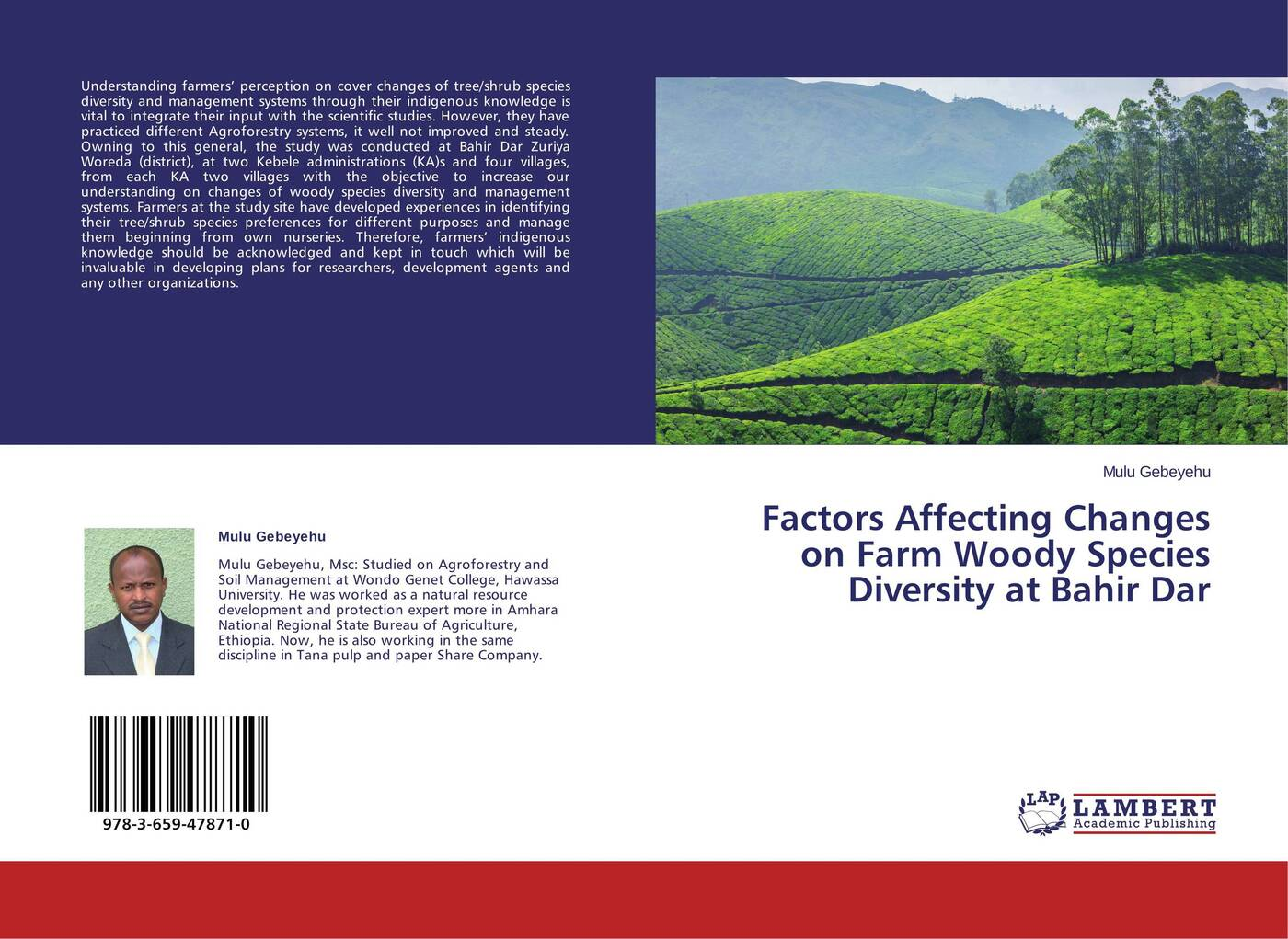 Mulu Gebeyehu Factors Affecting Changes on Farm Woody Species Diversity at Bahir Dar avifaunal diversity in raniban kaski district
