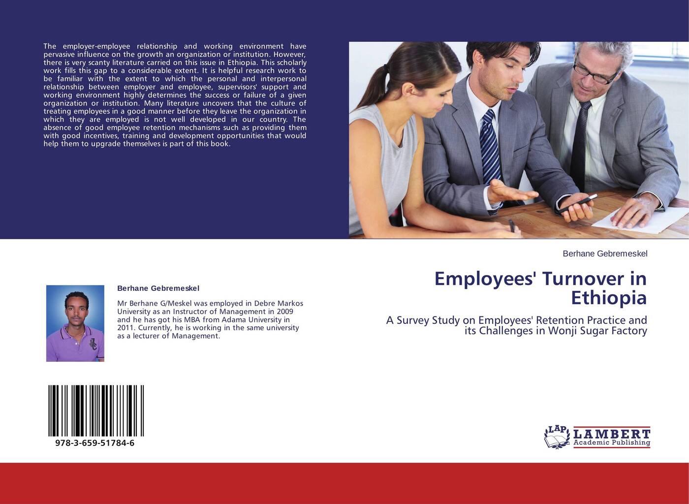 Berhane Gebremeskel Employees' Turnover in Ethiopia fsp151 4f01 pk101v3740i good working tested