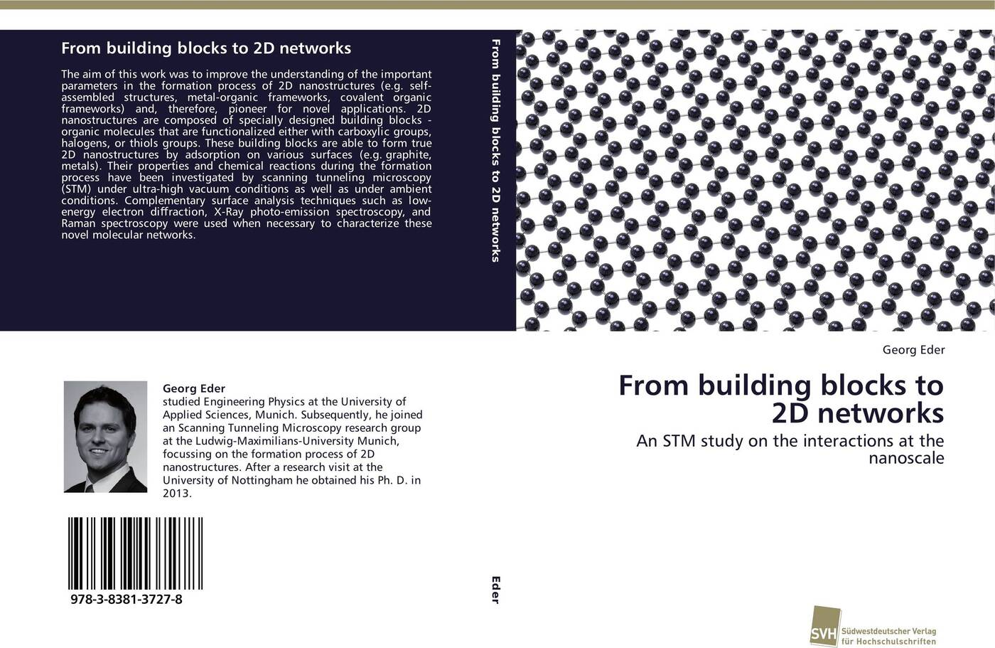 Georg Eder From building blocks to 2D networks цена и фото