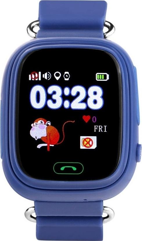 Детские GPS часы Nuobi Q90 (Синий) детские часы с gps wonlex gw700s красные