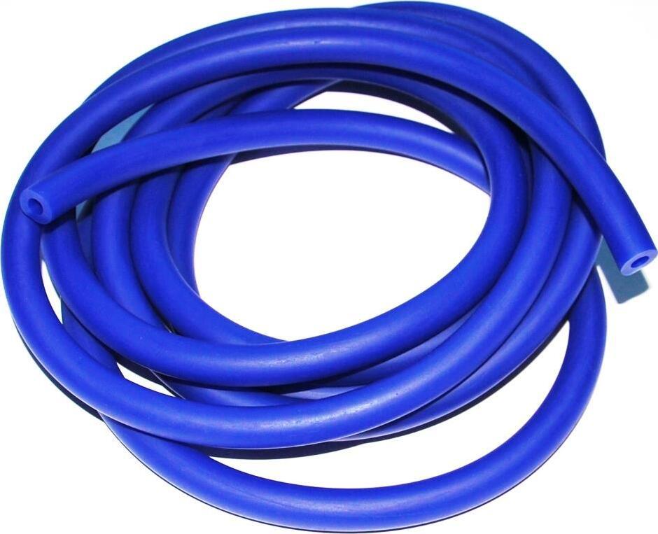 Эспандер латексная трубка (жгут) In-Sports 07684, синяя, диаметр 12мм, длина 3м