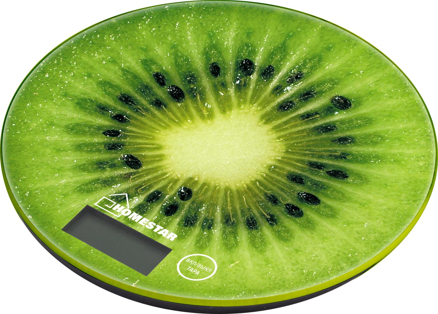Весы кухонные электронные HOMESTAR HS-3007S, 7 кг киви