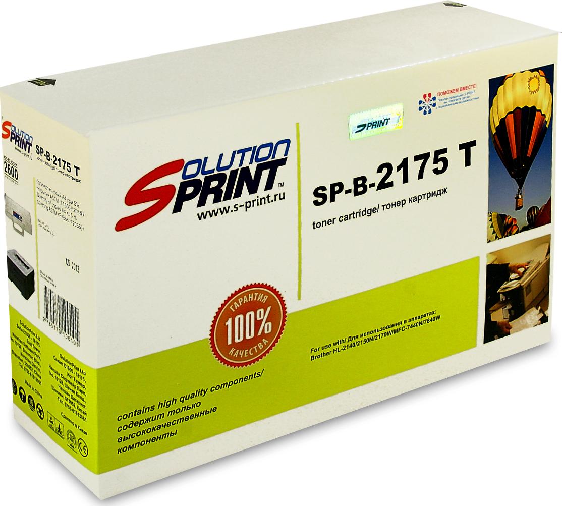 Тонер картридж SolutionPrint SP-B-2175 T 100% new original bare projector lamp bp96 01653a for samsung hl 56a650 hl 61a650 hl s4676s hl t5075s hl t5675s