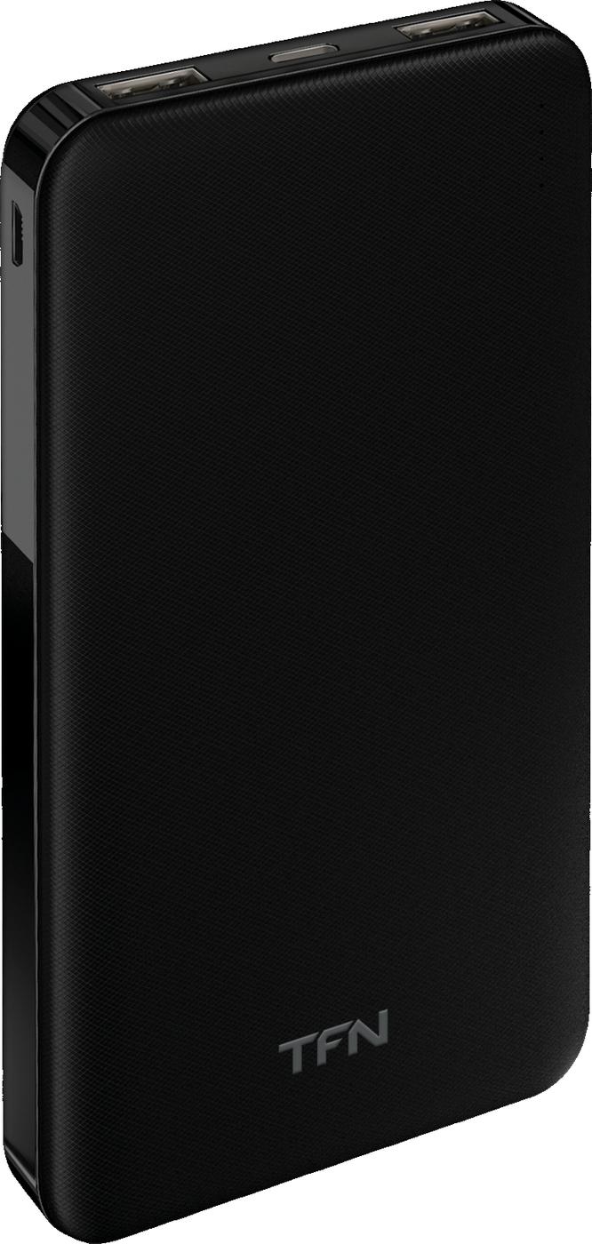 Внешний аккумулятор TFN АКБ 10000mAh SlimDuo black