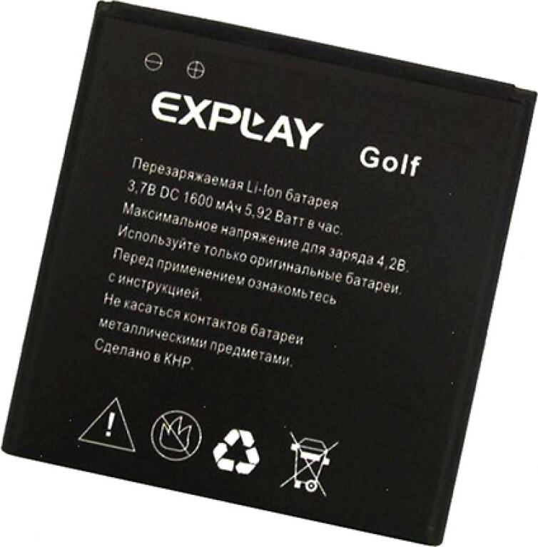 Фото - Аккумулятор Explay Golf аккумулятор