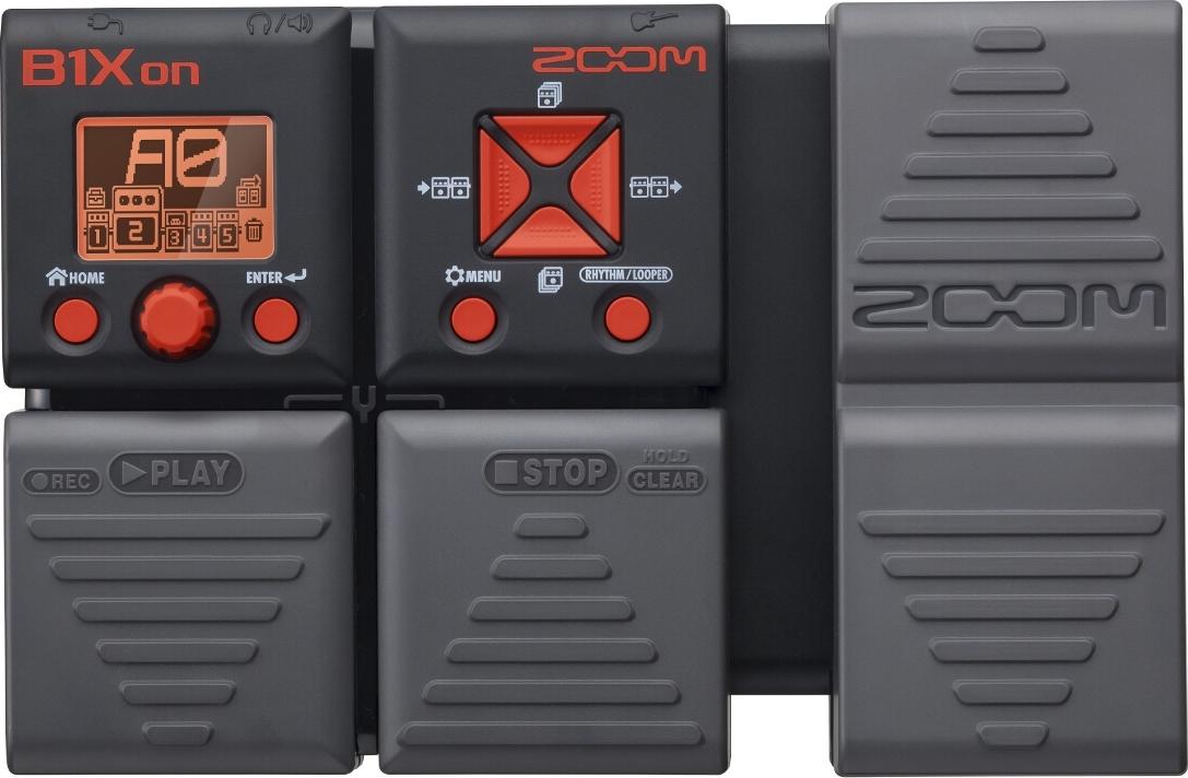 Мульти педаль эффектов для бас-гитары Zoom B1Xon
