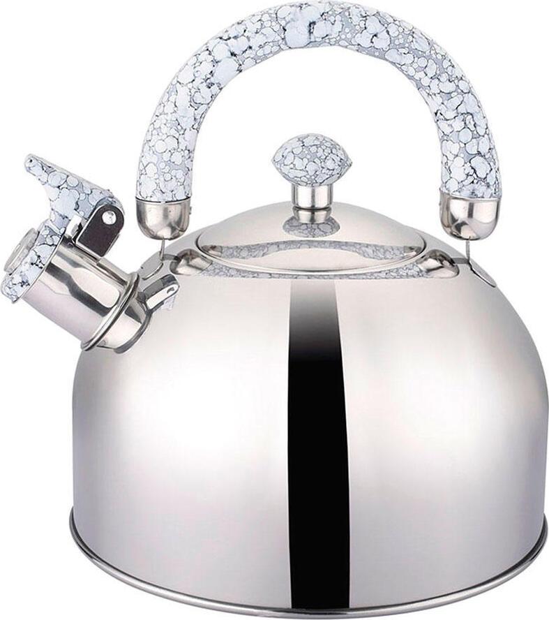 Чайник Appetite LKD-2125G со свистком 2.5л ручка гранит