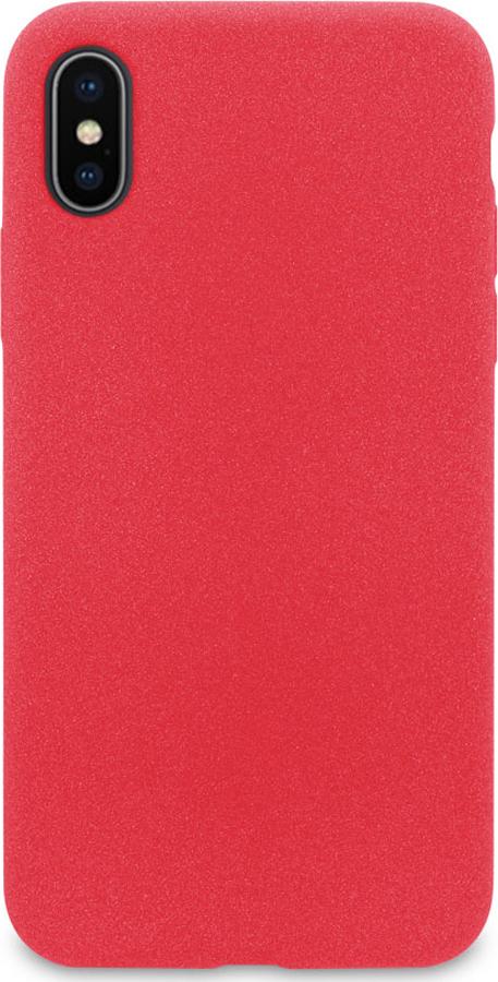 Чехол-накладка DYP Liquid Pebble для Apple iPhone X/XS, красный