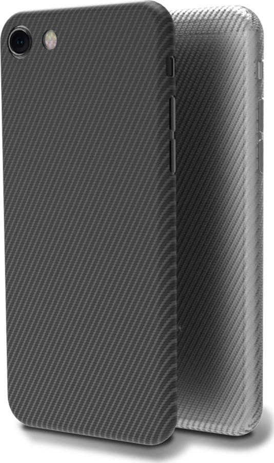 Чехол-накладка Muvit CARBON CASE для Apple iPhone 7/8, черный