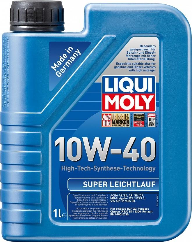LIQUI MOLY Масло моторное Super Leichtlauf 10W-40  1L
