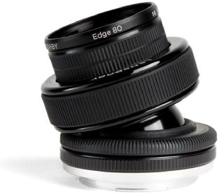 Объектив Lensbaby Composer Pro With Edge 80 для Nikon, черный
