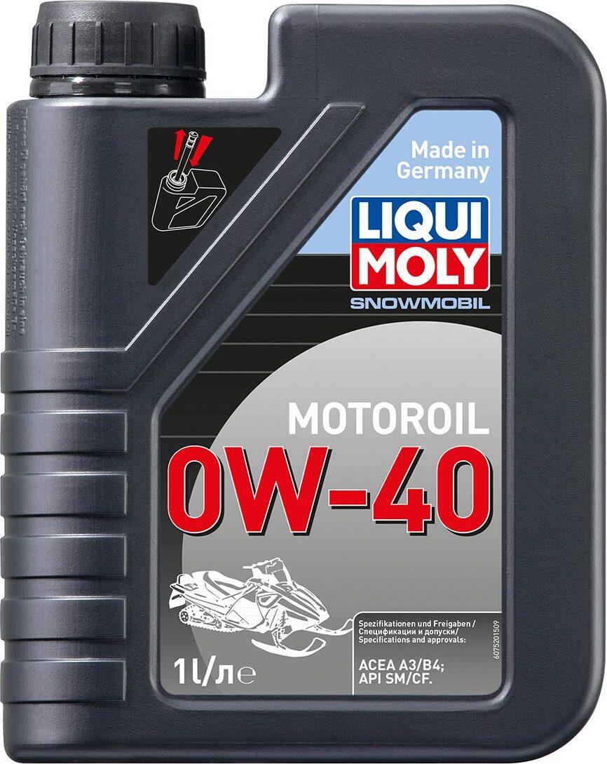 Моторное масло LIQUI MOLY Snowmobil Motoroil, синтетическое, 0W-40, 1 л 7520