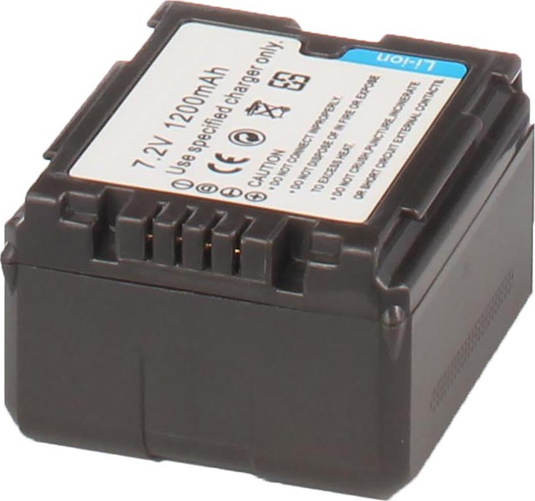 Аккумуляторная батарея iBatt iB-T3-F320 1320mAh для камер Panasonic PV-GS90, SDR-H48, AG-AC160, AG-HMC154ER, AG-HMC84ER, AG-HMC74ER, AG-AC130, AG-AC120, AG-AF104ER, AG-HMC40, AG-AC120EN, AG-AF100, AG-AC160EN, AG-HMC41E, AG-AC130EN, AG-AC160P,