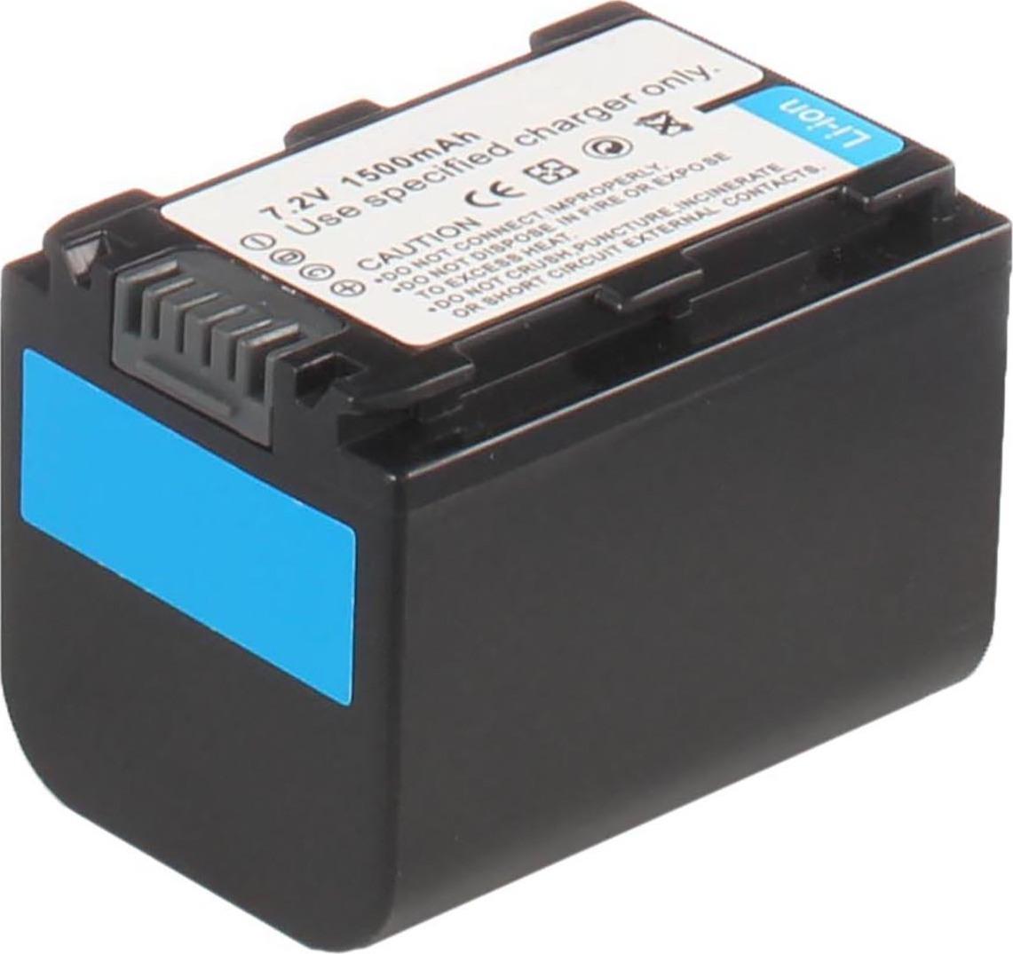 Аккумуляторная батарея iBatt iB-T6-F284 1300mAh для камер Sony HDR-SR5, DCR-HC51E, HDR-CX500E, HDR-SR8E, DCR-DVD106, DCR-HC47E, HDR-HC5, HDR-UX3E, HDR-XR200E, DCR-DVD306E, DCR-SR52E, HDR-CX520E, HDR-CX7, DCR-DVD910, DCR-HC28, DCR-HC38, HDR-CX105E,