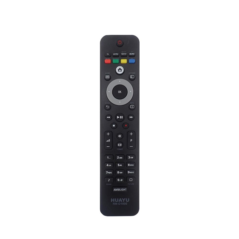 Пульт универсальный HUAYU RM-D1000W для Philips TV (черный)