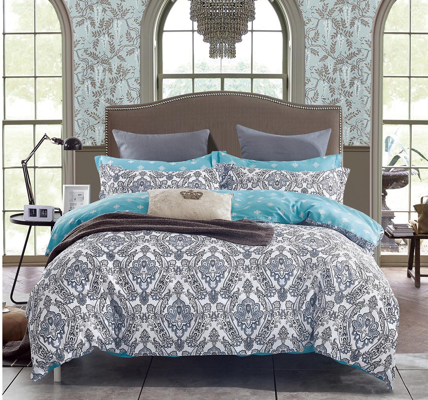 Комплект постельного белья Альвитек CA-4-130, сатин, 2-х спальный, нав-ки 70х70