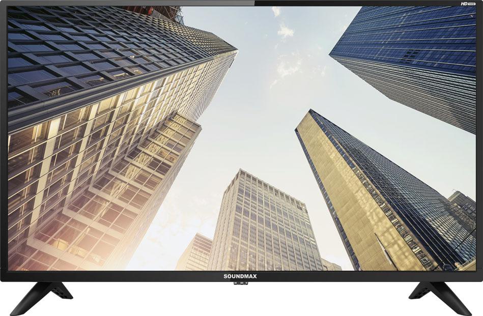 "Телевизор Soundmax SM-LED32M05 32"", черный"