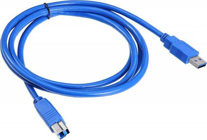 Кабель Buro USB3.0-AM/BM USB A(m) USB B(m) 1.8м синий