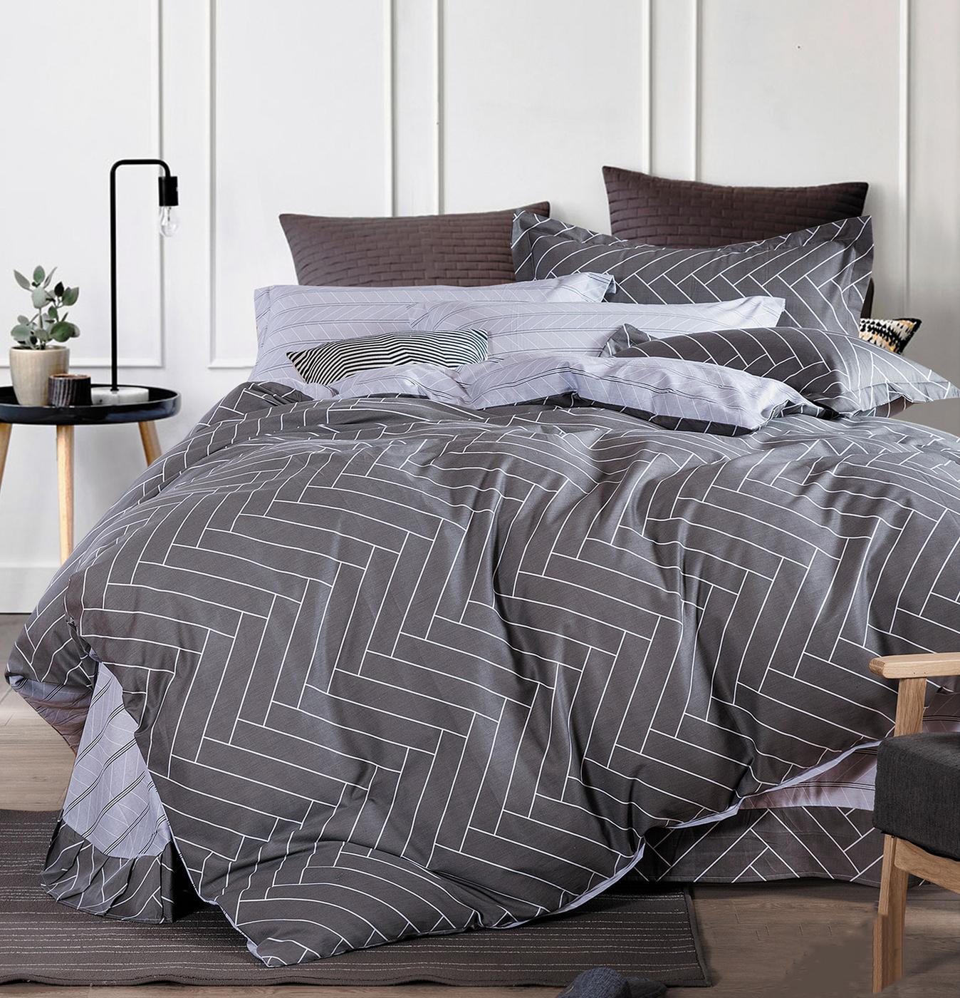 Комплект постельного белья Альвитек CA-6-209, сатин, Евро, нав-ки 70х70 + 50х70