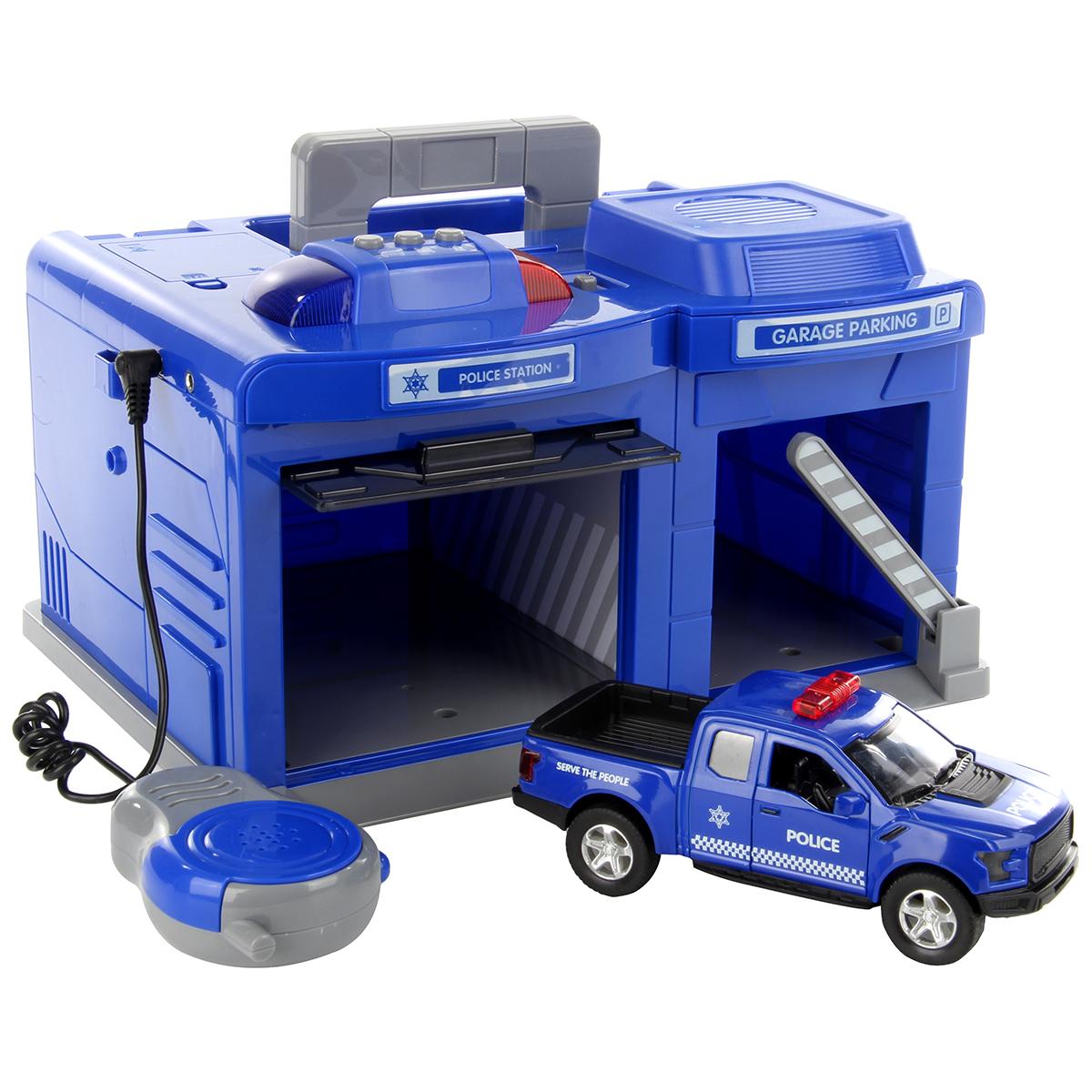 Машины в гараже для детей