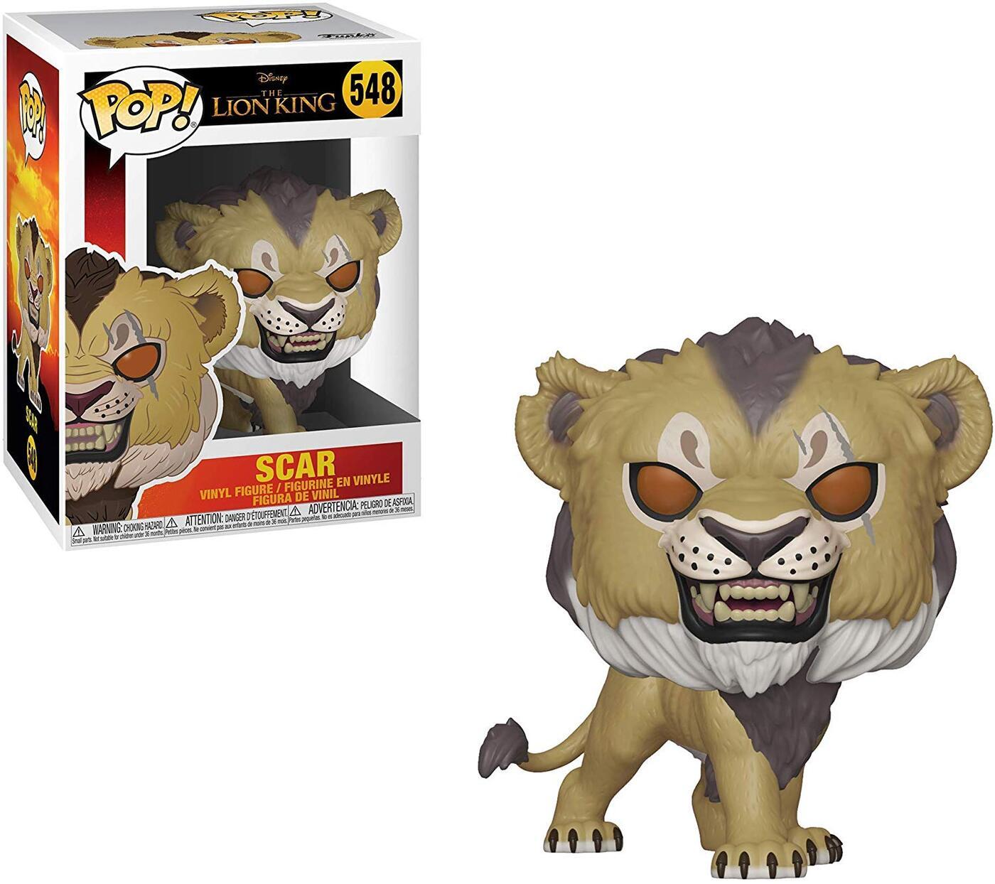 Фигурка Funko Pop Шрам (Lion King Live Action - Scar) из мультфильма Король Лев №548