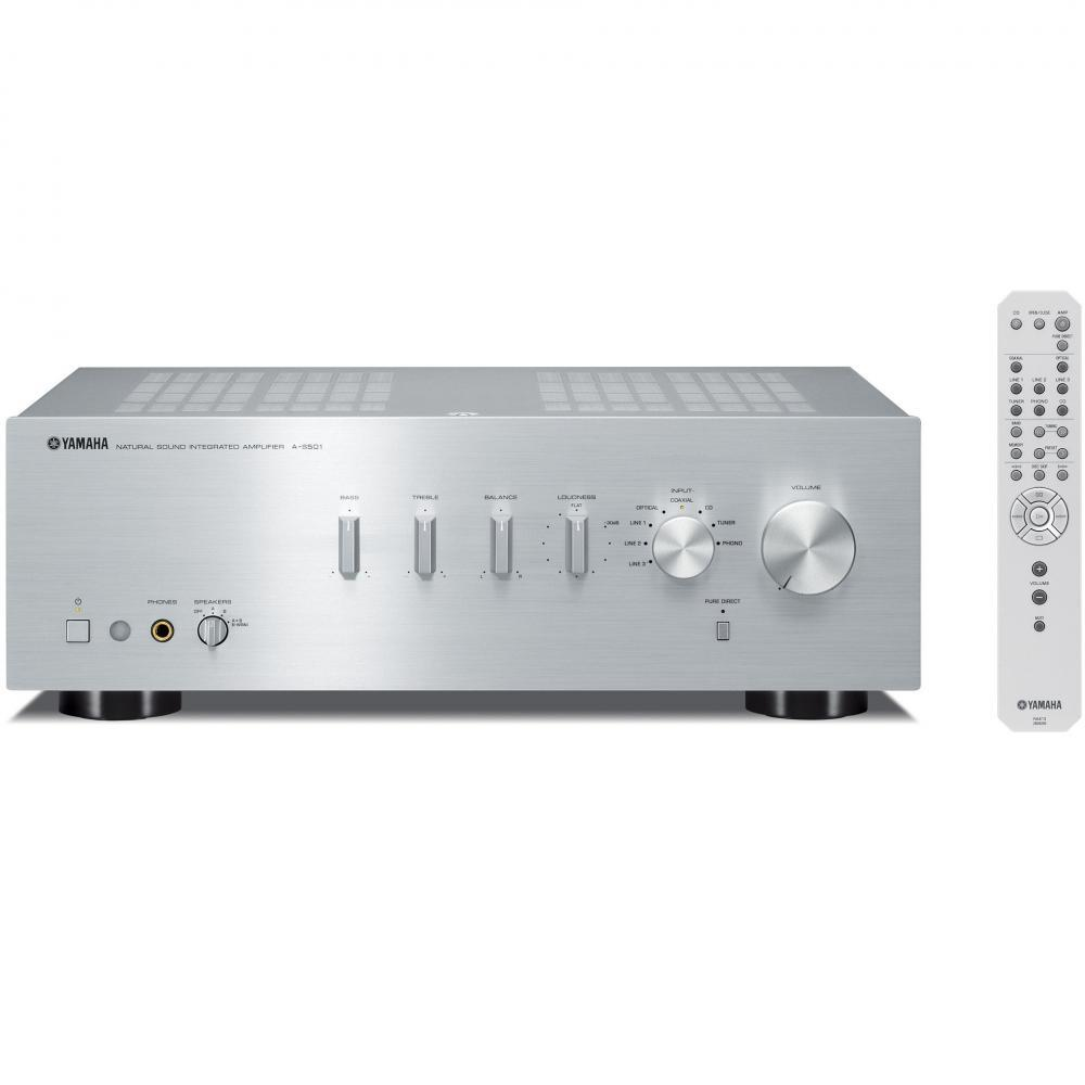 Yamaha Integrated Amplifier 192khz / 24bit Compatible Silver A-s501 (S)(Japan imports)
