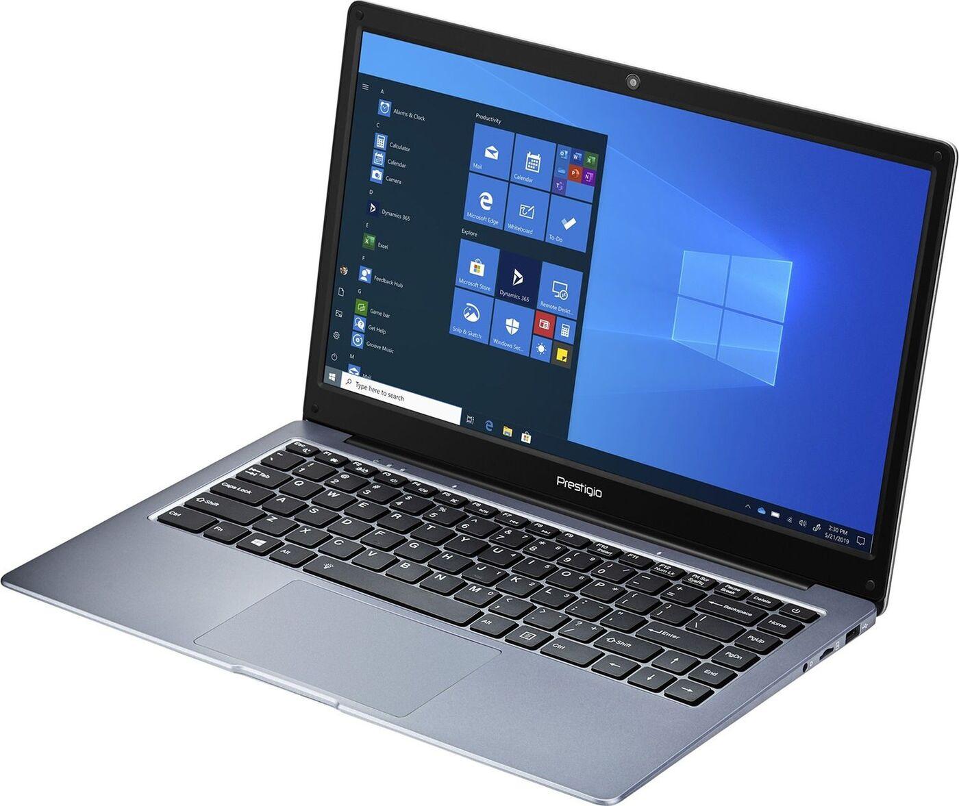 """14.1"""" ноутбук prestigio smartbook 141 c4, amd a4-9120e (1.5 ггц), ram4 гб 64 гб radeon r3, (psb141c04cgp_dg_cis), темно-серый. уцененный товар"""