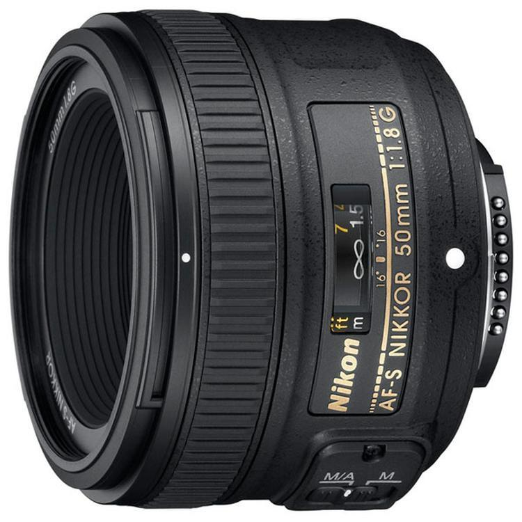 Nikon Объектив 50mm f/1.8G AF-S Nikkor