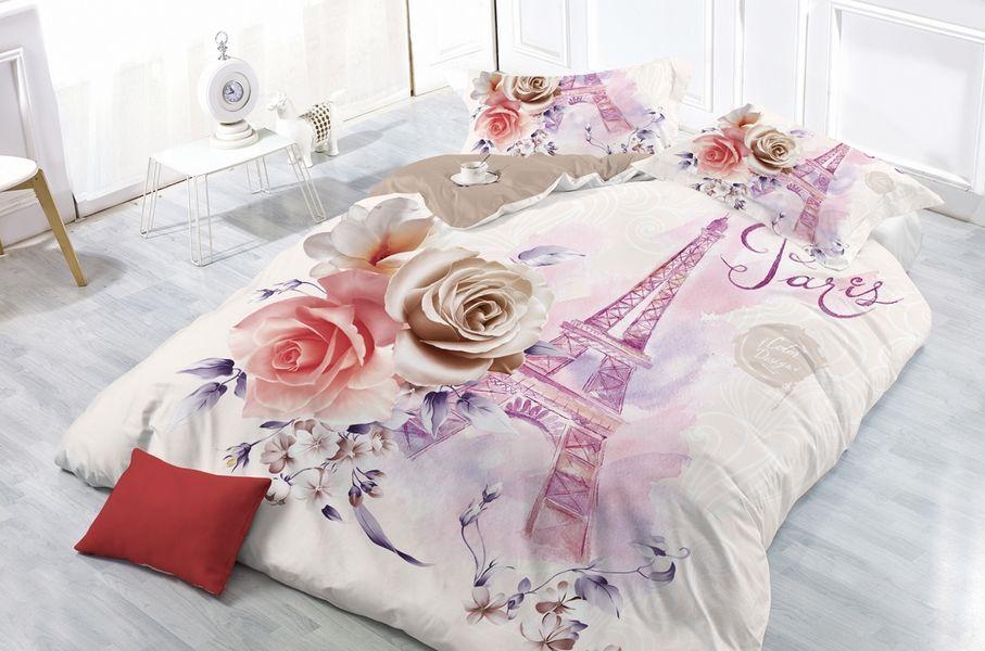 Комплект постельного белья Сонька-Дремка СФ-36-е Евро, Сатин, наволочки 70x70