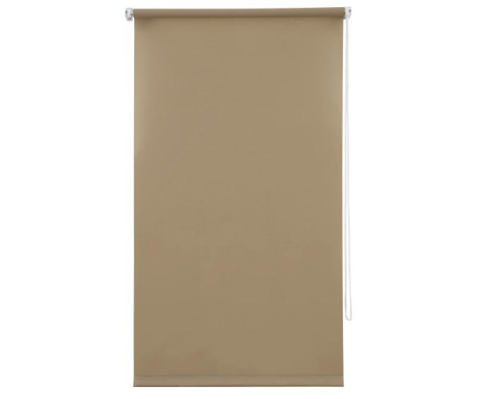 Штора рулонная, 60x160 см, цвет коричневый-20481