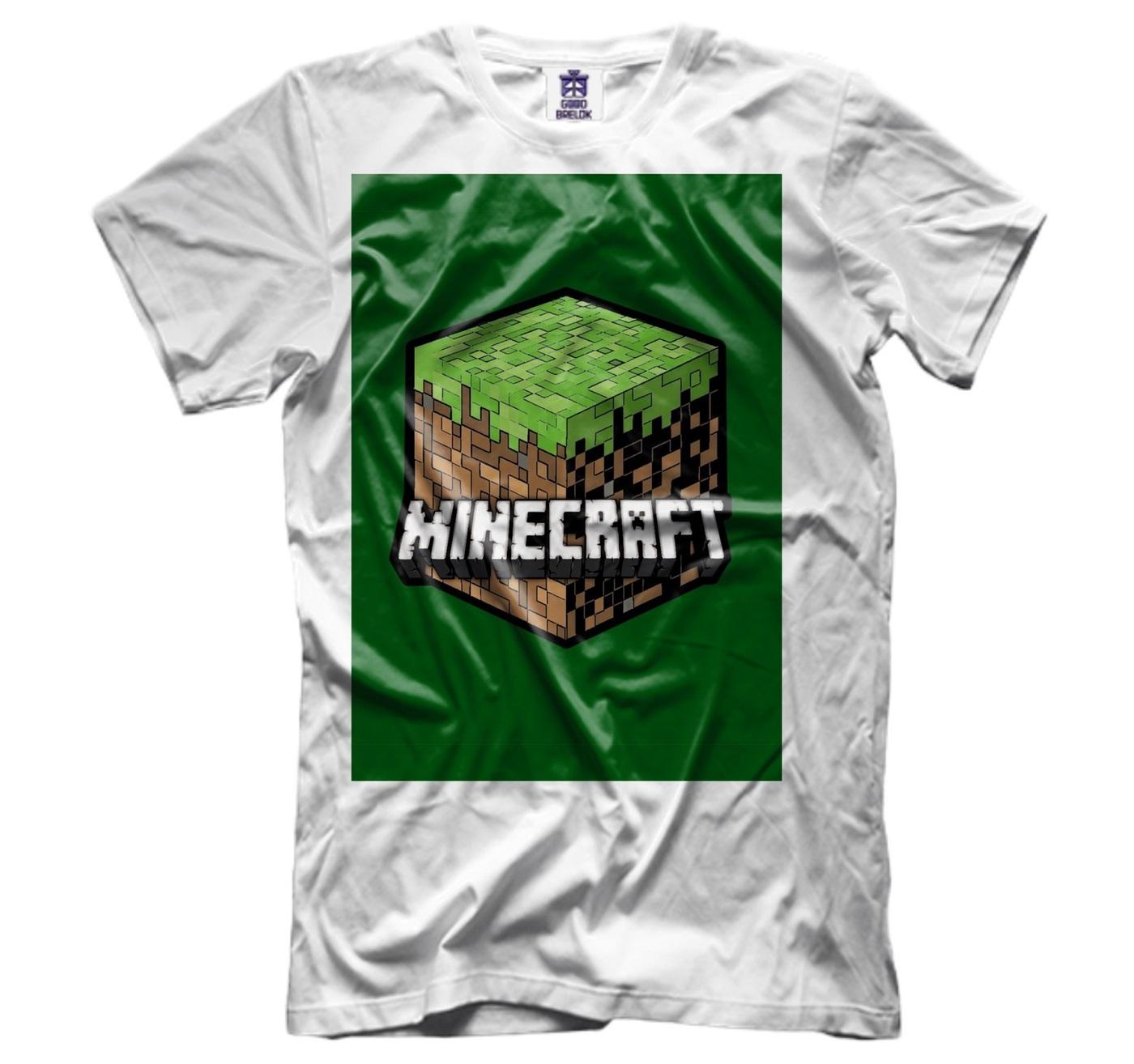 озон футболки с майнкрафт #4