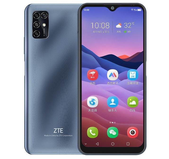 смартфон zte blade v2020 smart 4/64gb, серебристый