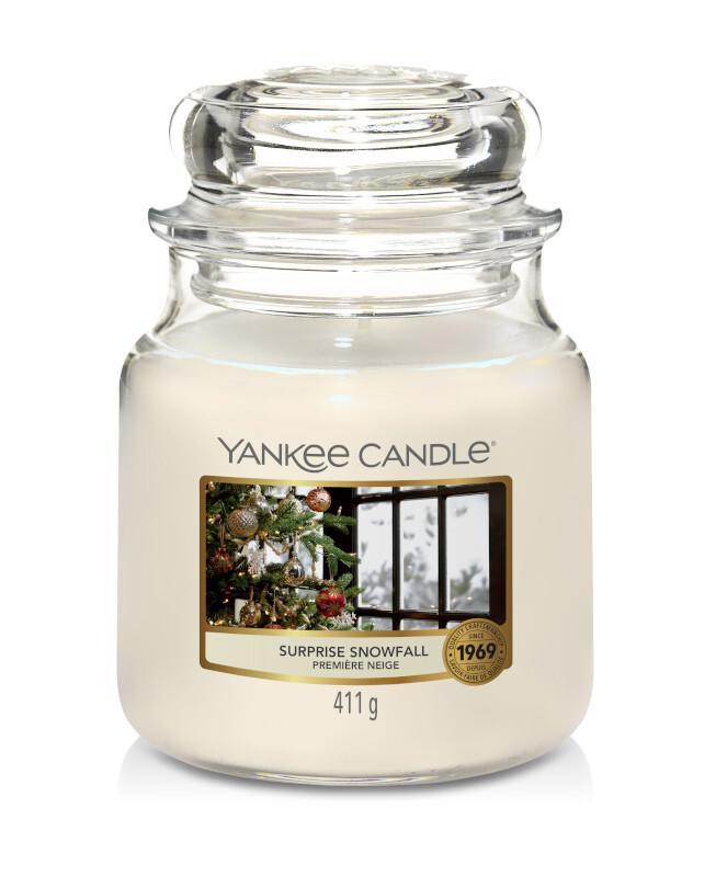 Selten 411g Yankee Candle  SURPRISE SNOWFALL