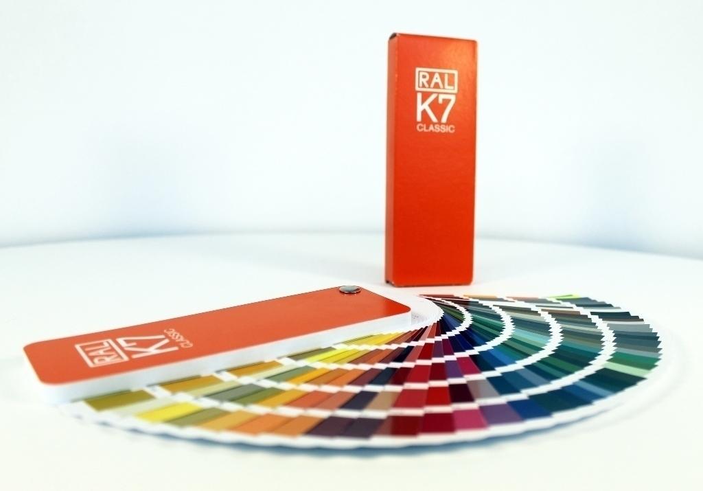 Каталог цветов RAL Classic K7