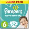Pampers Подгузники Active Baby-Dry, 13-18 кг (размер 6), 52 шт - изображение