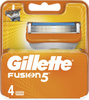 Сменные кассеты лезвия Gillette Fusion5 ProGlide Насадки Джилет с 5 лезвиями и точным триммером для труднодоступных мест 4 шт - изображение
