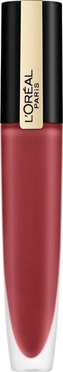 Губная помада-тинт для губ L`Oreal Paris Rouge Signature Parisian Sunset, матовый, №129  #1