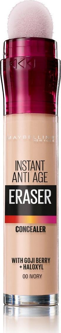 """Maybelline New York Консилер для кожи вокруг глаз """"The Eraser Eye"""", оттенок 00, Слоновая кость  #1"""